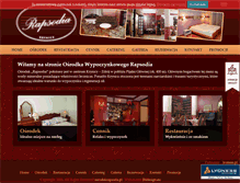 Tablet Preview of hotelrapsodia.pl